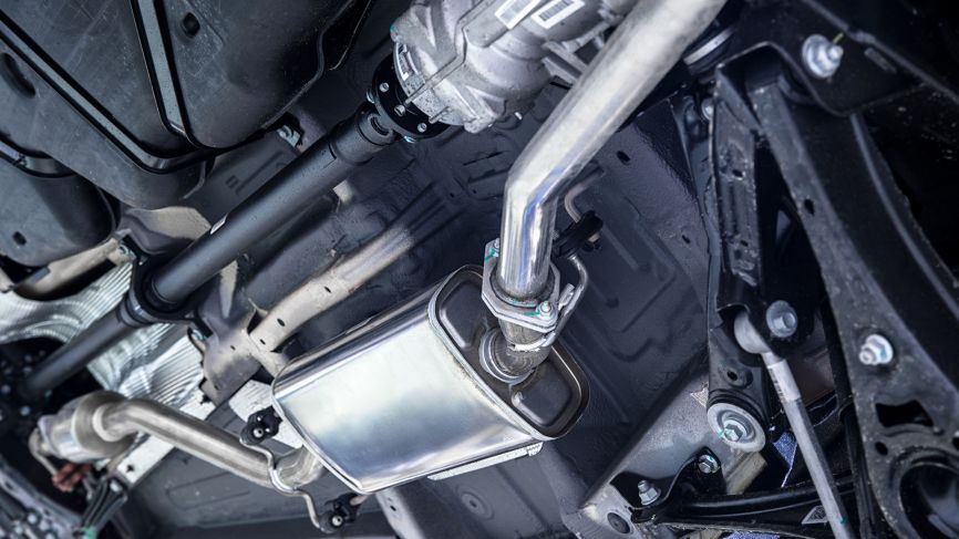 Exhaust + Catalytic Converter